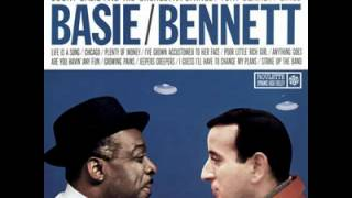Tony Bennett and Count Basie - Jeepers Creepers  1958