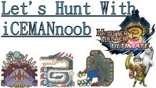 MH3U - Part 1 - Let's Hunt With iCEMANnoob