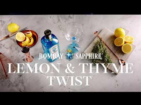 Bombay Lemon & Thyme Twist