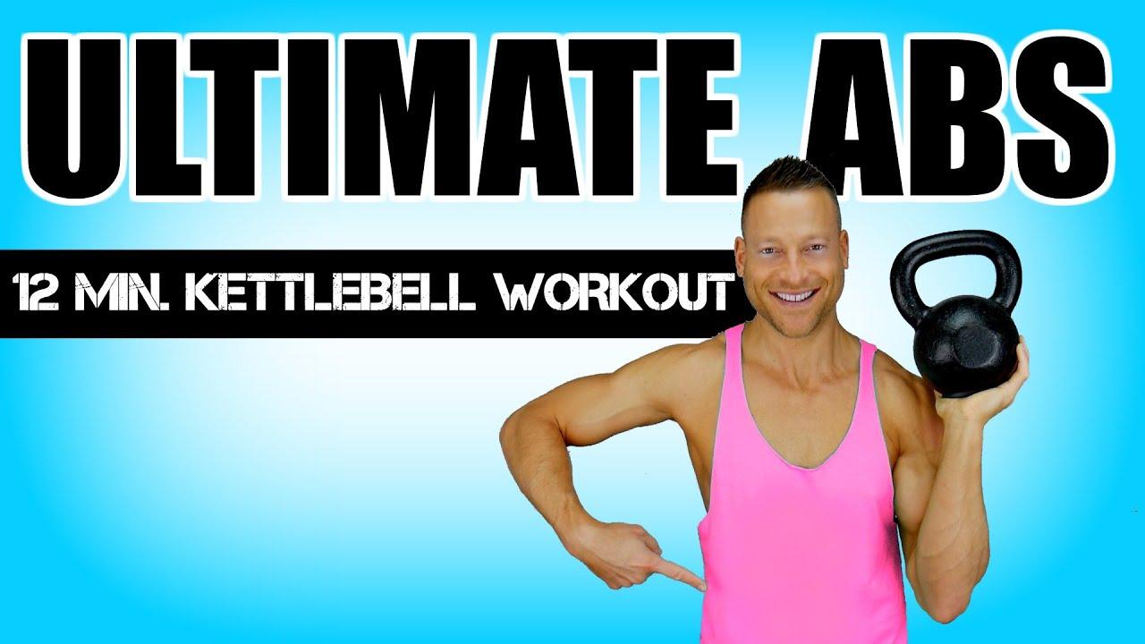 ULTIMATE KETTLEBELL AB WORKOUT | 12 Minute Kettlebell