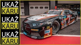 4K | NASCAR SPECIÁL | NA OKRUHU BEZ BRZD!! | PRVNÍ ČECH V NASCAR MARTIN DOUBEK