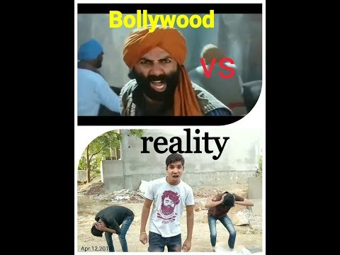 BOLLYWOOD VS REALTY BY M.M.G BOYS/CREATOR🤗😉😉