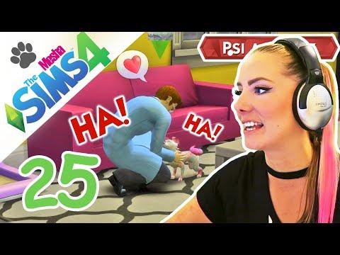 Duhový prasopes a Carolinina uječená kariéra ● The Sims 4 - Psi a Kočky 25