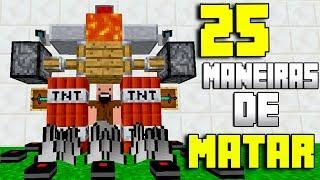 25 MANEIRAS DE MATAR O NOTCH NO MINECRAFT...