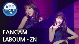 [FOCUSED] LABOUM's ZN - Between Us [Music Bank / 2018.07.27]