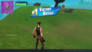 Fortnite Player Wins Battle Royale Without Firing a Shot (Second) - J7