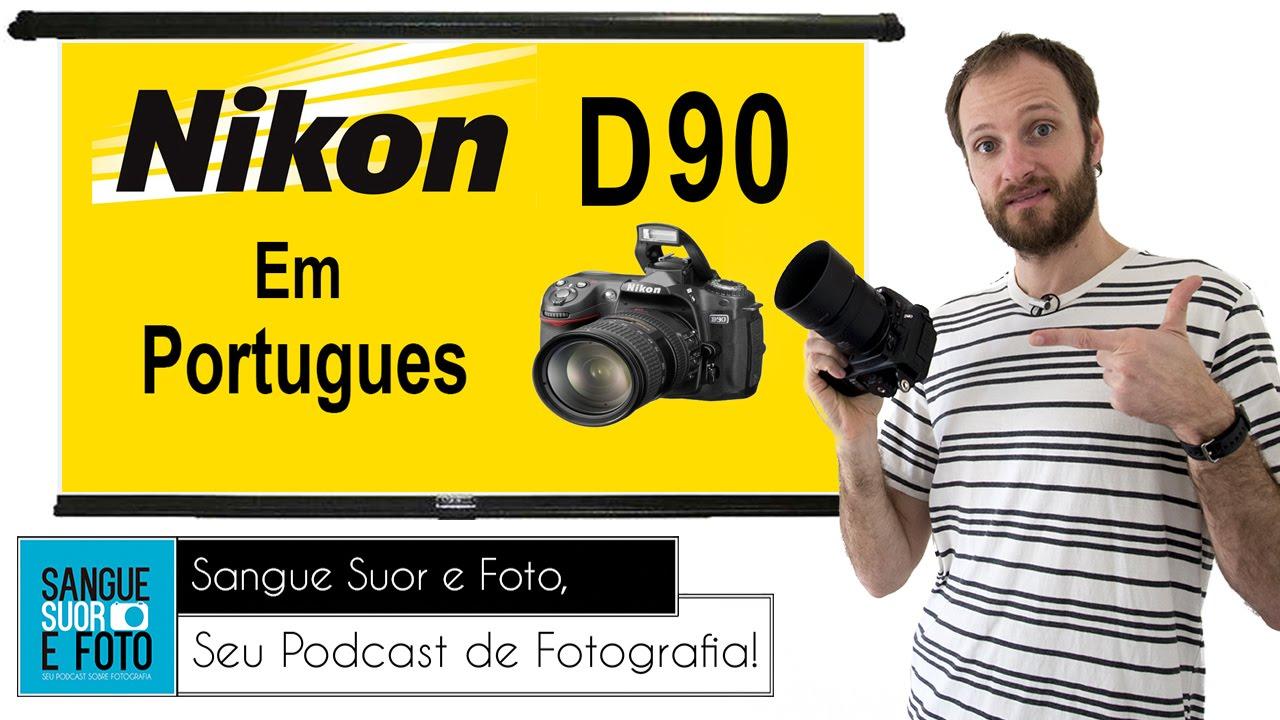 review nikon d90 em portugues youtube rh youtube com manual nikon d90 em portugues pdf Nikon D90 Parts Catalog