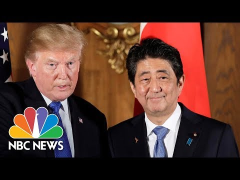 President Trump To Japan's Prime Minister: Your Economy Will Be Second After Ours, 'OK?' | NBC News