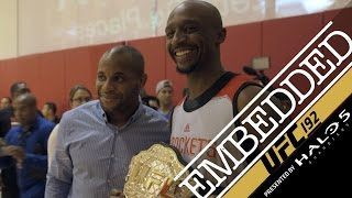 UFC 192 Embedded: Vlog Series - Episode 4