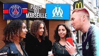 T'ES POUR PARIS OU MARSEILLE ?