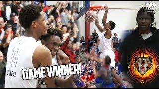 GAME WINNER! Shareef O'Neal & DJ Houston LEAD Crossroads In Playoff Victory