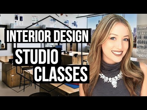 INTERIOR DESIGN STUDIO CLASSES | What To Expect + Project Examples!