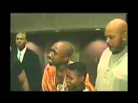 Tupac footage on the day he died