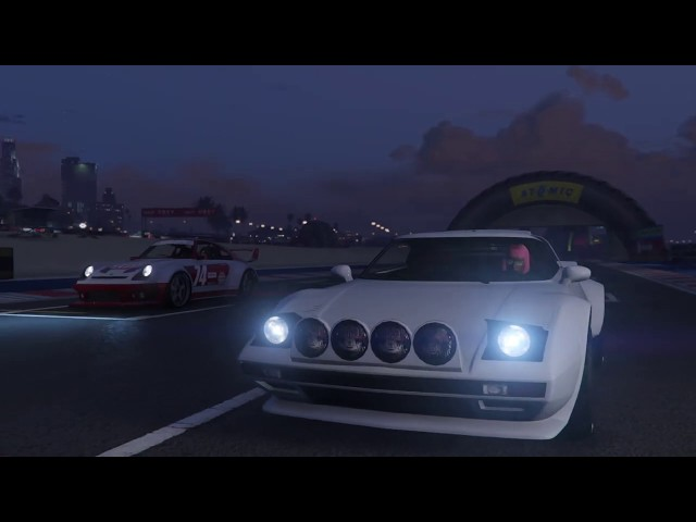 GTA Online Race: RX-Del Perro - link in the description