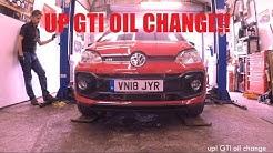 VW Up! GTI - DIY Oil Change Guide & Check