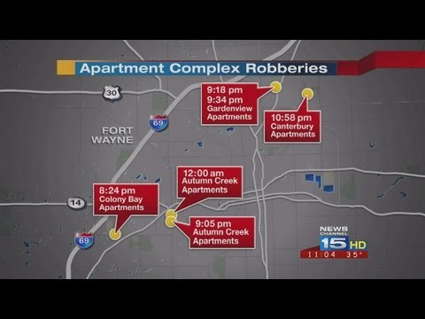 Series Of Armed Robberies Target Apartment Complexes