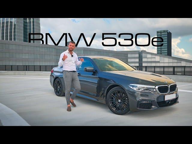 BMW 530e M sport - hybrid på 1. klasse!