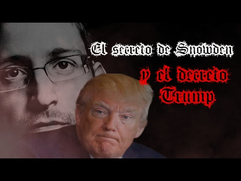 El secreto de Snowden y el decreto Trump | Oculto #4 | Videos de terror | Creepypasta