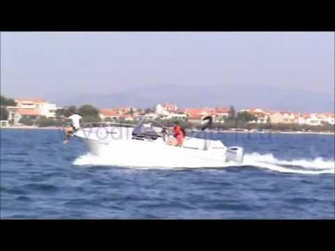 ATLANTIC marine SUN CRUISER 730 + HONDA 250HP