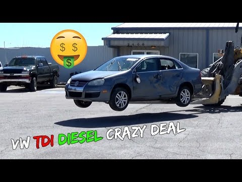 Crazy Good Deal VW JETTA TDI DIESEL From Copart Car Auction