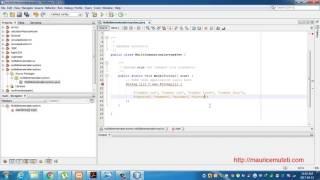 Java programming tutorial Multidimensional arrays Netbeans