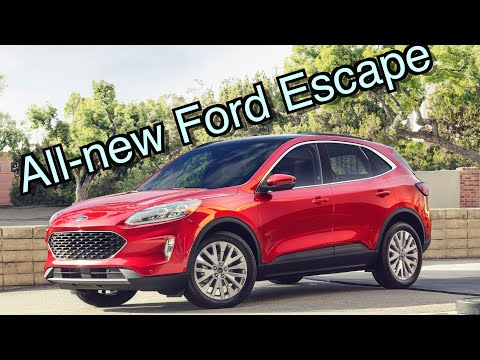 All-New 2020 Ford Escape // Enough To Beat RAV4 And CR-V?
