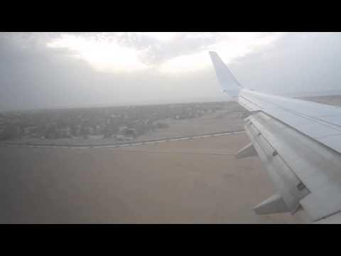 Royal Air Maroc arriving at Dakhla Airport