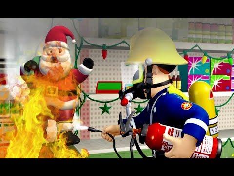 New Fireman Sam ❄️Santa's New Year Escape ❄️Fireman Sam Best Rescue 🎉🔥Kids Cartoons