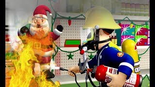 New Fireman Sam ❄️Santa's New Year Escape ❄️Fireman Sam Best Rescue 🎉🔥Kids Cartoons