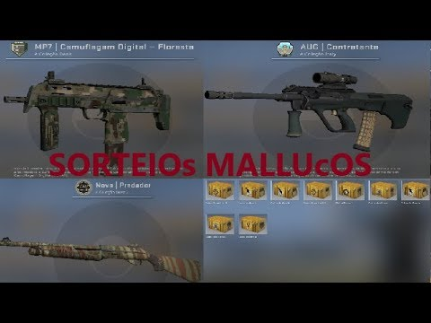 Cs Go Sorteio De 3 Skins Youtube