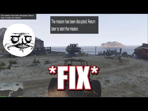 "How To: FIX GTA - Federal Investigation Bureau: ""This Mission Has Been Disrupted"" *FIX* [HD/60FPS]"