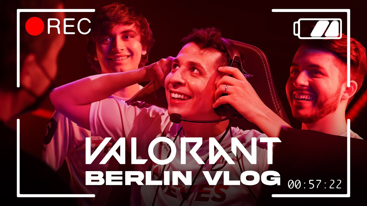 Download 100T VALORANT touch grass for 1st time   Berlin VLOG
