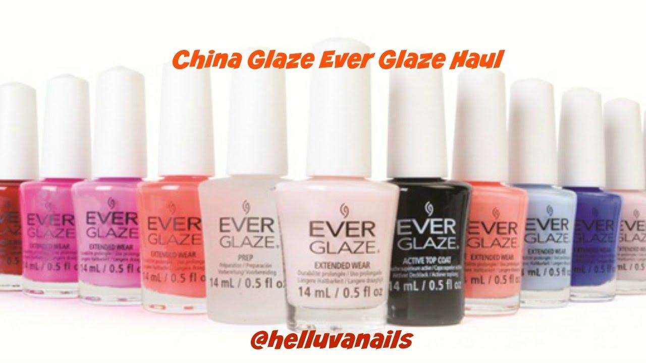China Glaze Everglaze Extended Wear - YouTube