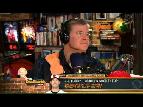J.J Hardy on The Dan Patrick Show 10.12.12