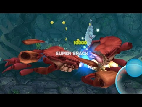 ICE SHARK KILL GIANT CRAB
