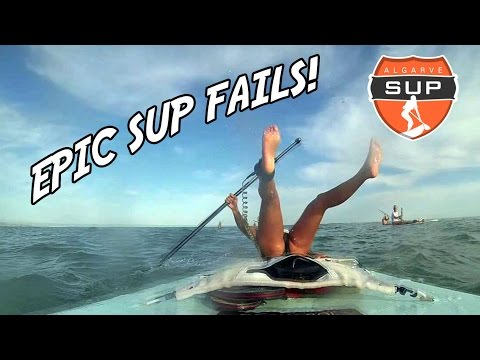 Epic Stand Up Paddle Boarding Fails Youtube