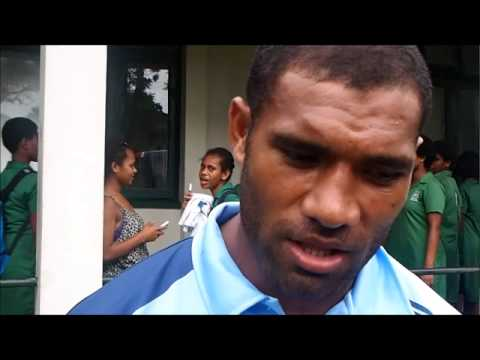 Telecom Fiji Warriors player Samu Laqai
