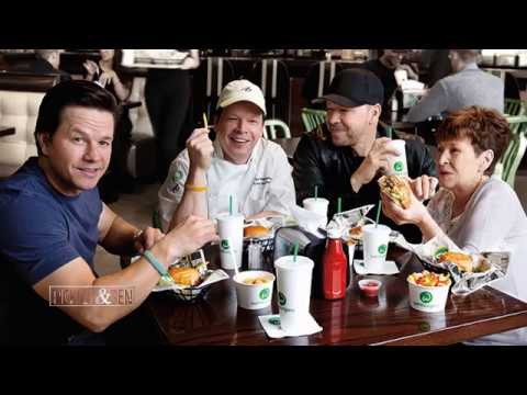 The Wahlberg Brothers Donnie Mark And Who