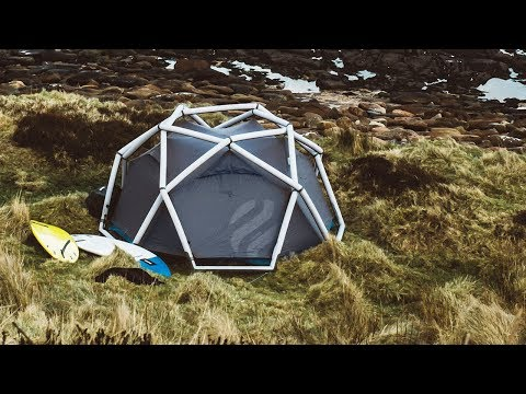 The fastest tent you'll ever put up.