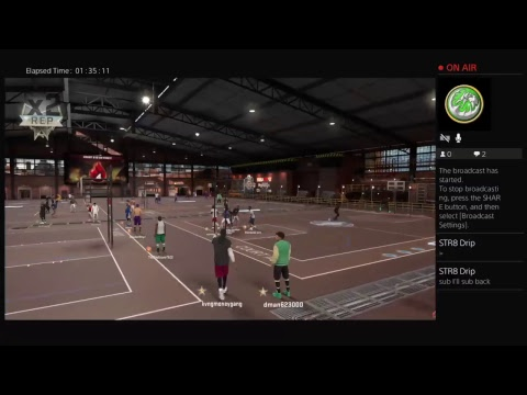 Nba 2k17 mypark grind to SS1