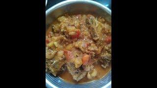 Mutton potato gravy   Non veg recipe   Healthy food recipes   Mutton gravy with healthy spices
