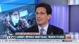 Leader Cantor: No One Believes the Potential Interim Agreement is Helpful to Middle East Stability