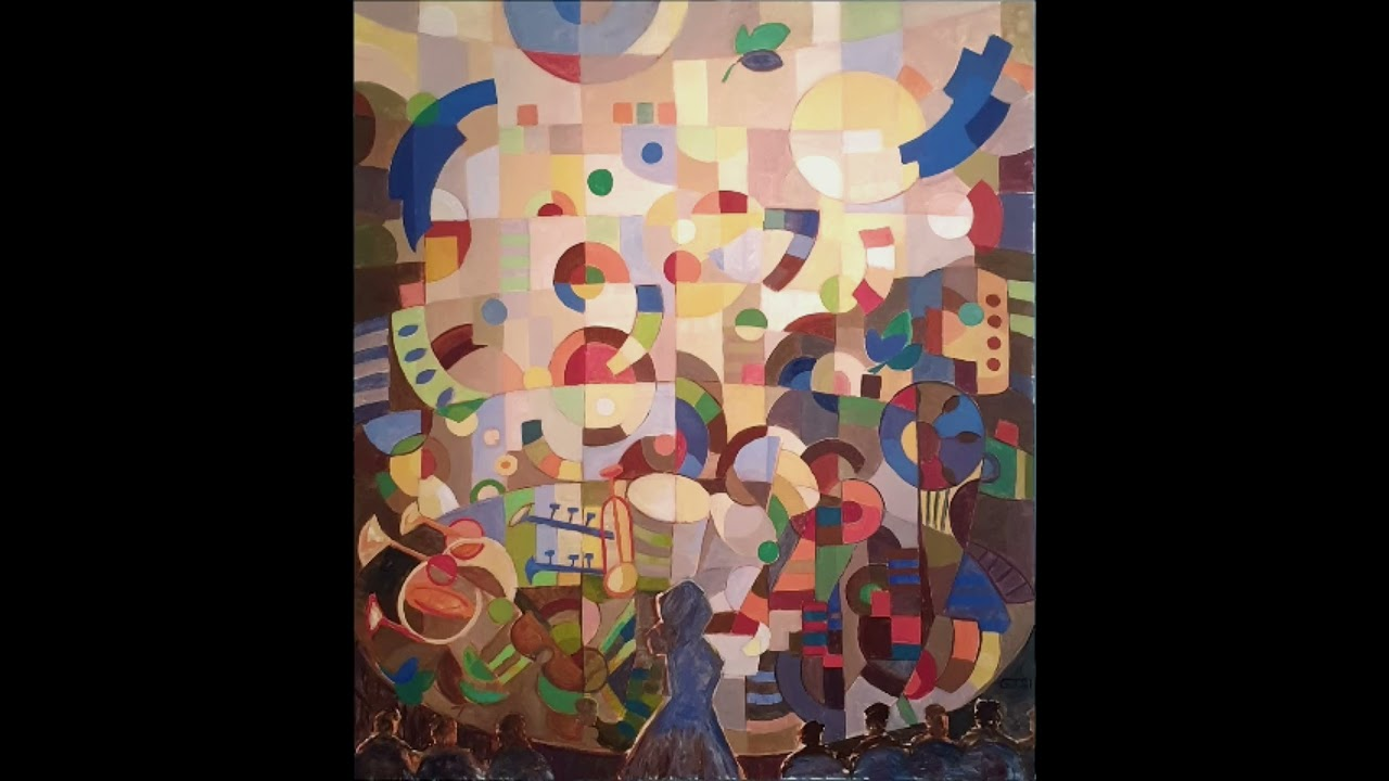 """CULTURE  ‣ Gabrielle Thierry,  """"La Cheffe d'Orchestre""""  - Painting in the Space of Music and Dance"""