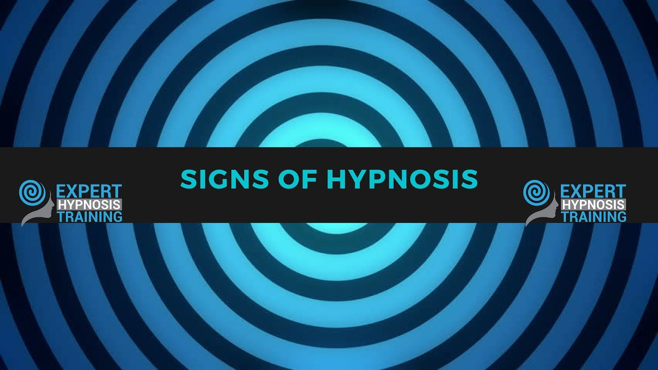 Signs Of Hypnosis How Do You Know If Someone Is Hypnotized Youtube
