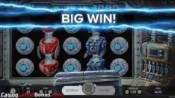WILD-O-TRON 3000 slot from NetEnt (FREESPINS, BONUSES, BIGWIN, MEGAWIN, SUPERBIGWIN)