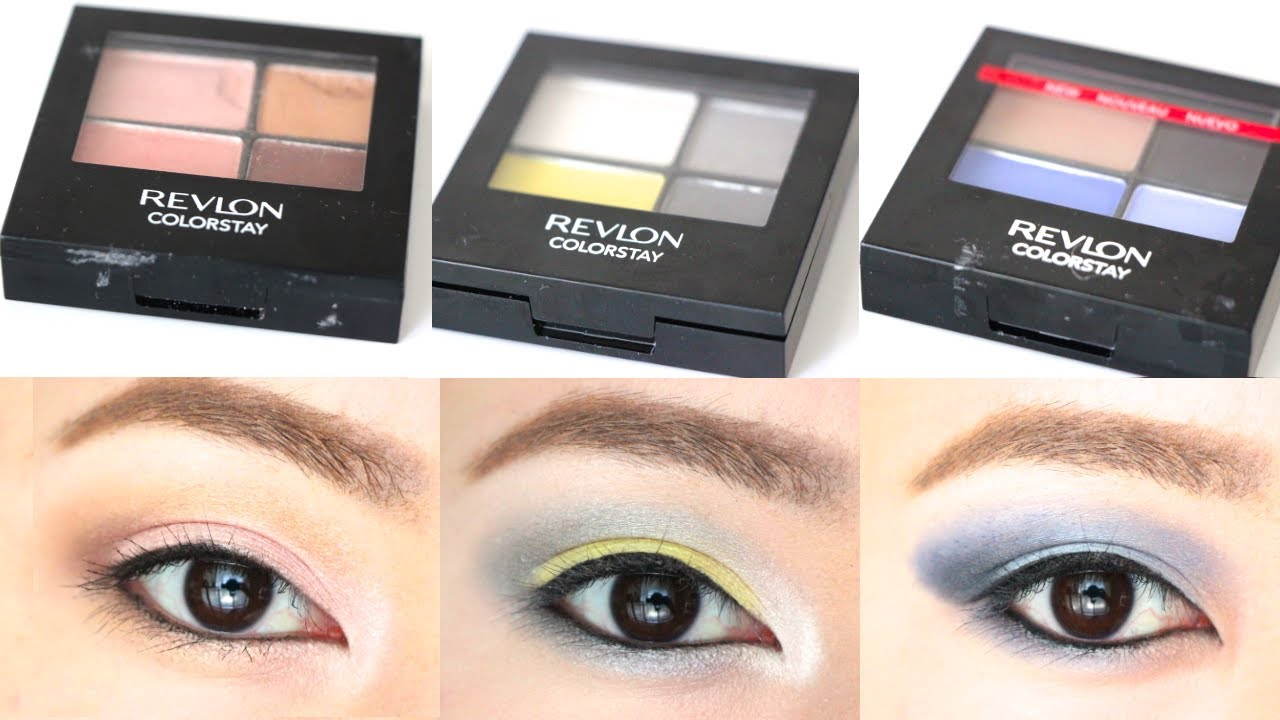 Revlon colorstay 16 hour eyeshadow quad swatches eye makeup revlon colorstay 16 hour eyeshadow quad swatches eye makeup youtube ccuart Images