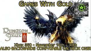 Dungeon Siege III - Games With Gold