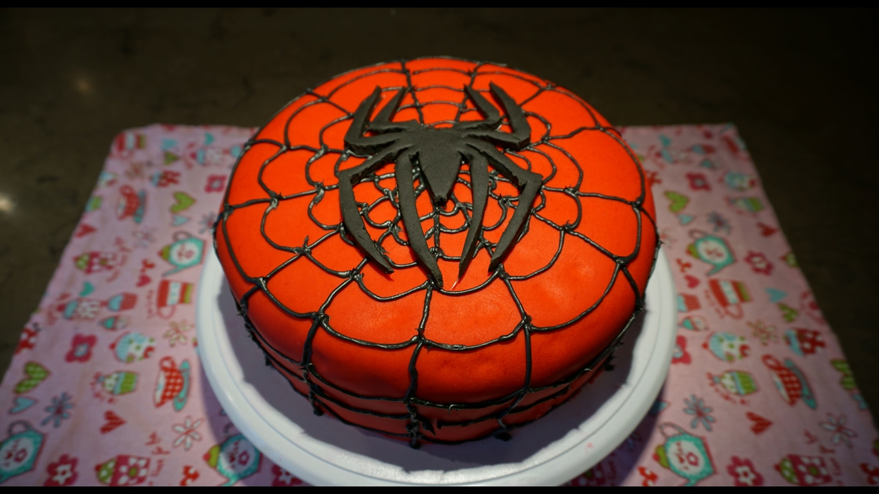 Easy Recipe For Spiderman Cake