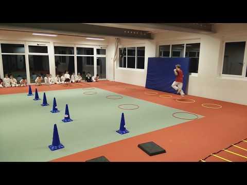 Kinderkarate Stuttgart Ost Koordinationstraining (Wagenburggymnasium, mittwochs 17:45 - 18:45)