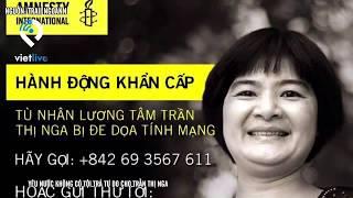 Yêu nước không có tội Trả tự do cho Trần Thị Nga